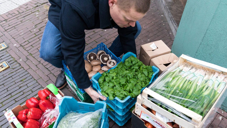 Gijs, Restaurantgründer aus Leidenschaft, finanziert durch die Triodos Bank Niederlande.